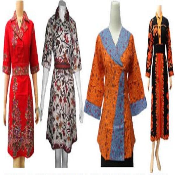 Model Baju Batik Kerja Atasan Muslim: Model Baju Atasan Batik Terbaru Wanita Kombinasi Muslim