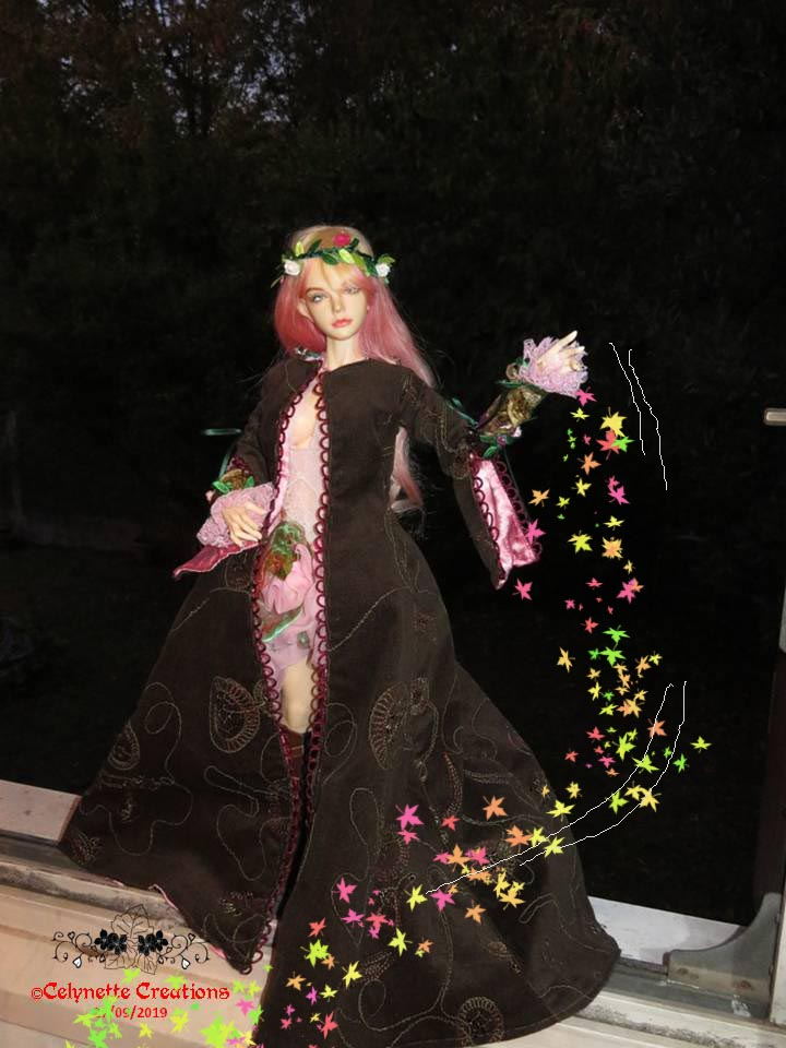 Dolls d'Artistes & others: Calie, Bonbon rose - Page 34 Diapositive6-effet%2Bfeuilles