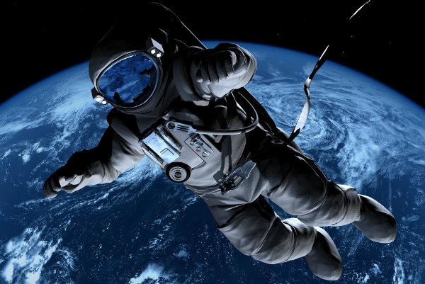 Картинки космонавты в космосе
