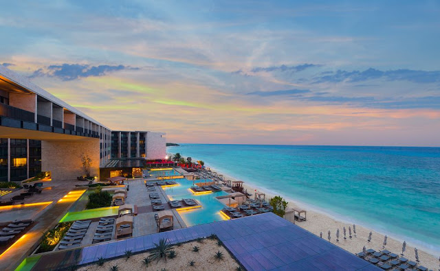 Get away to Grand Hyatt Playa del Carmen Resort and the Caribbean Coast of Quintana Roo. Retreat to beachfront rooms with sunrise views.
