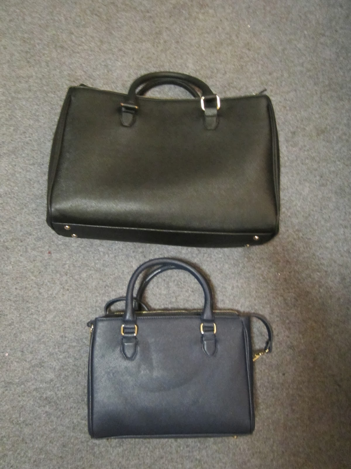 98d59bd5ec The top one is the Citybag with zips costs £59.99 and on the bottom is my  current new everyday bag - Mini Office City ...