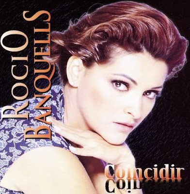 Foto de Rocío Banquells en portada de disco