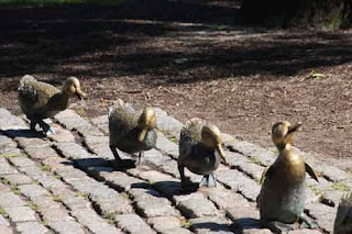 Make Way For Ducklings Boston Public Garden