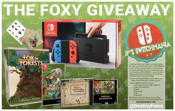 SORTEIO: Ganhe Um Nintendo Switch!