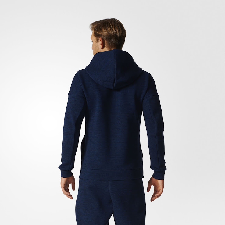 outlet buy sale entire collection Adidas 2017 ZNE Travel Hoodie Released - Footy Headlines