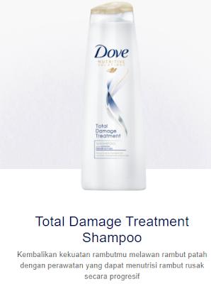 dove damage treatment shampoo