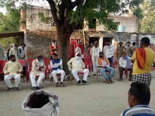 मंत्री गिरीश सहित संघ बौद्धिक प्रमुख ने राजमणि के घर पहुँच जताया शोक | #NayaSabera