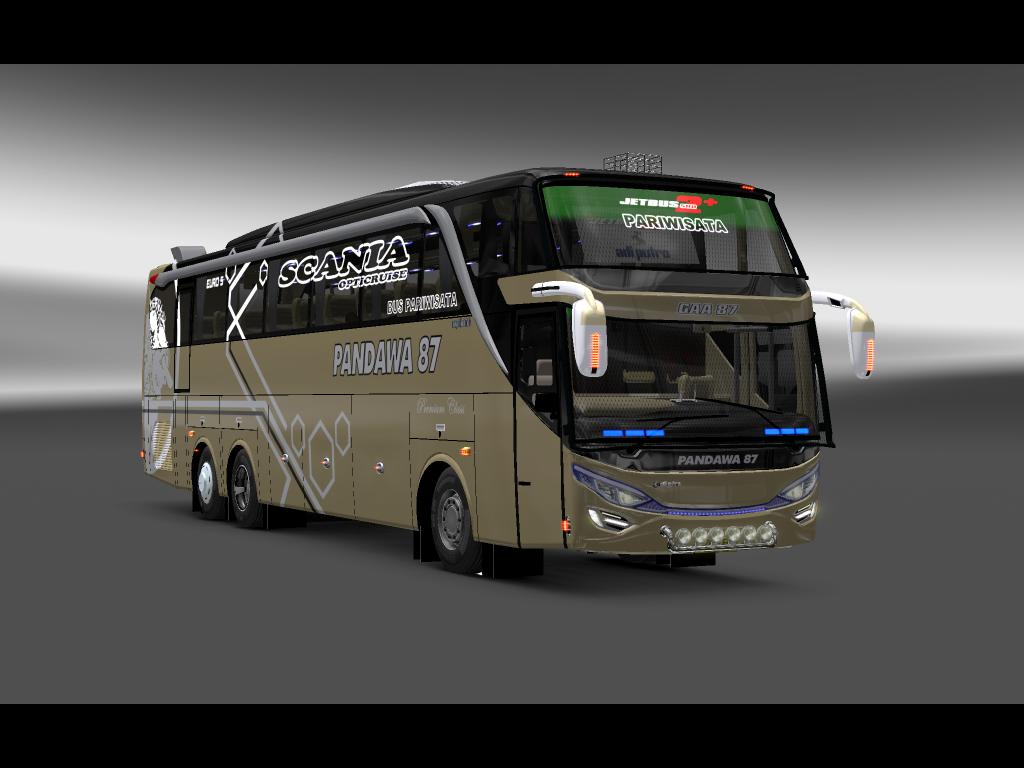 Mod Ets2 Bus Shd Adiputro Pandawa 87 Mod Mod Euro Truck