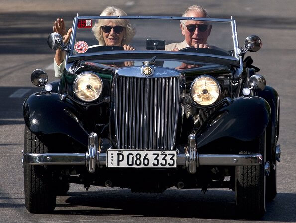 The Prince of Wales and the Duchess of Cornwall became the first British royals to visit Cuba. Ramon Espinosa