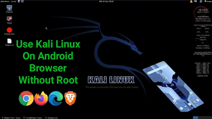 Use Kali Linux On Android Browser | Don't Need To Download Any Files | Without Any Root | Hacking Tutorial 2020