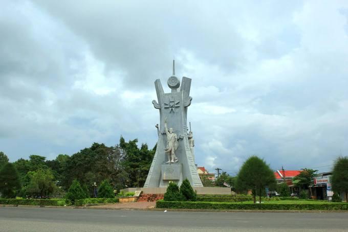 Tượng đài chiến thắng Đắk Hà
