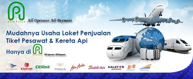 Agen Tiket Pesawat dan Kereta Api