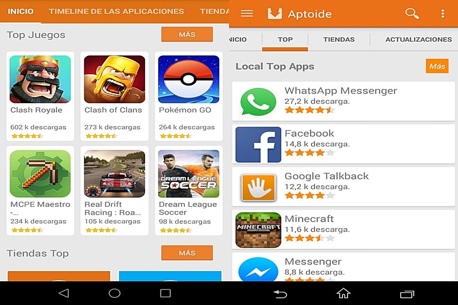 تحميل برنامج متجر Aptoide App Store للاندرويد