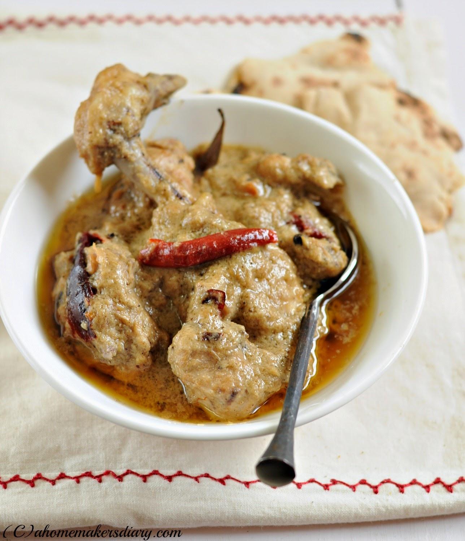 Mutton rezala mughlai recipes - mutton rezala mughlai recipe
