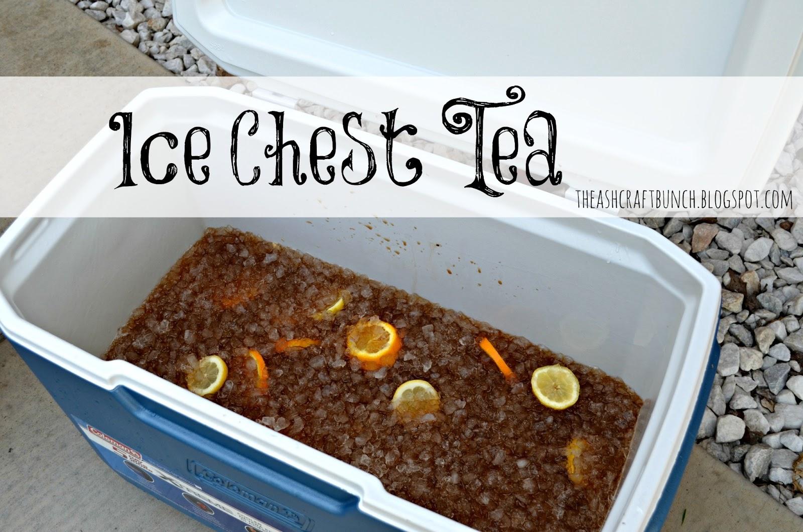 Ice Chest Tea