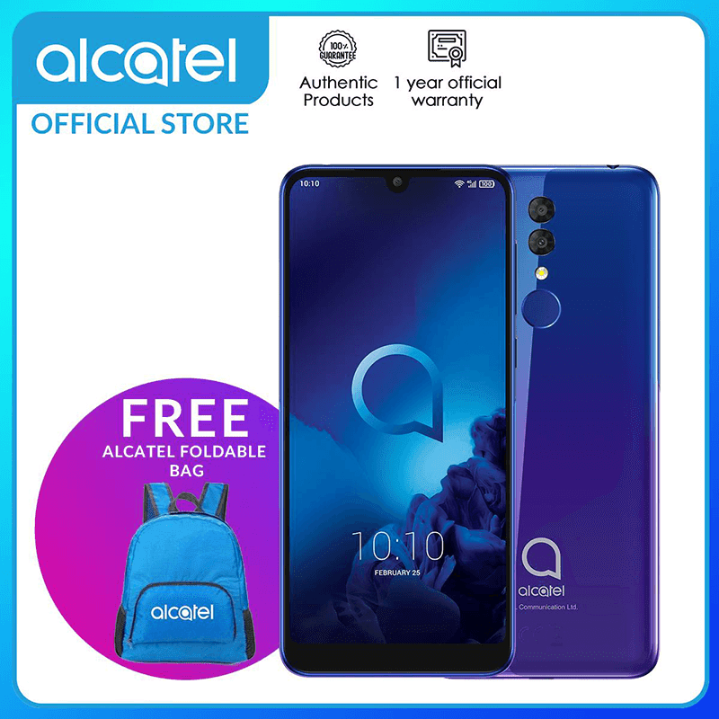 Alcatel 3 (2019) with SD439, 4GB RAM arrives in the Philippines