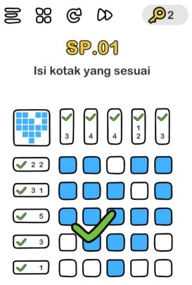 Kunci Jawaban Brain Out Level SP.01