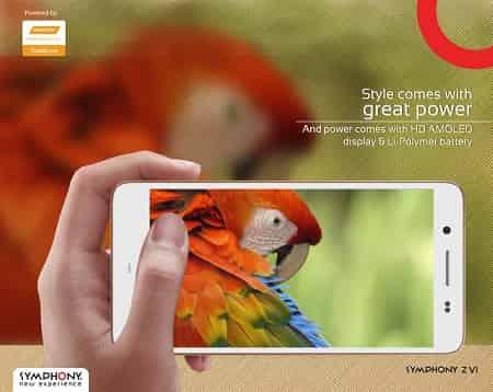 Symphony Xplorer Z6 Flagship Smartphone