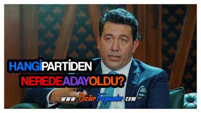 Magazin, Emre Kınay, Vurgun Dizisi, İyi Parti, Nerede Aday Oldu, Beledi Başkanı, Kadıköy,