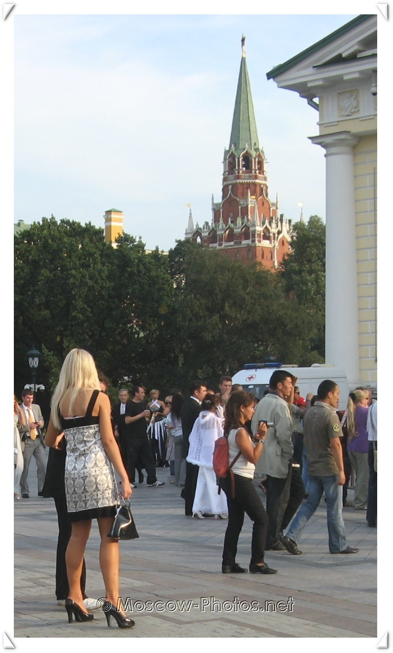 Moscow Summer Street Photo