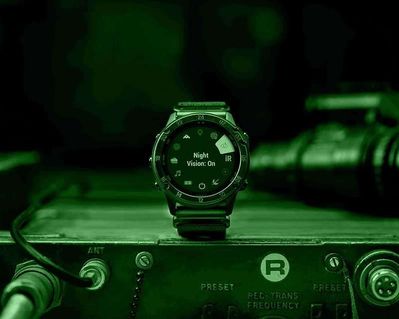 Night Vision mode makes it usable even wearing Night-Vision goggles