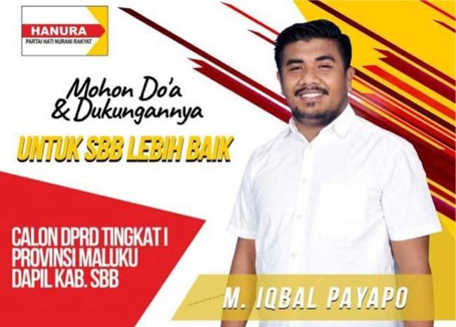 Untuk SBB lebih Baik, ini Visi Misi Iqbal Payapo