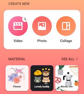 open the inshot app