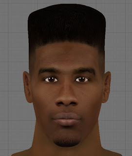 NBA 2K13 Iman Shumpert Cyber Face (New Hair)