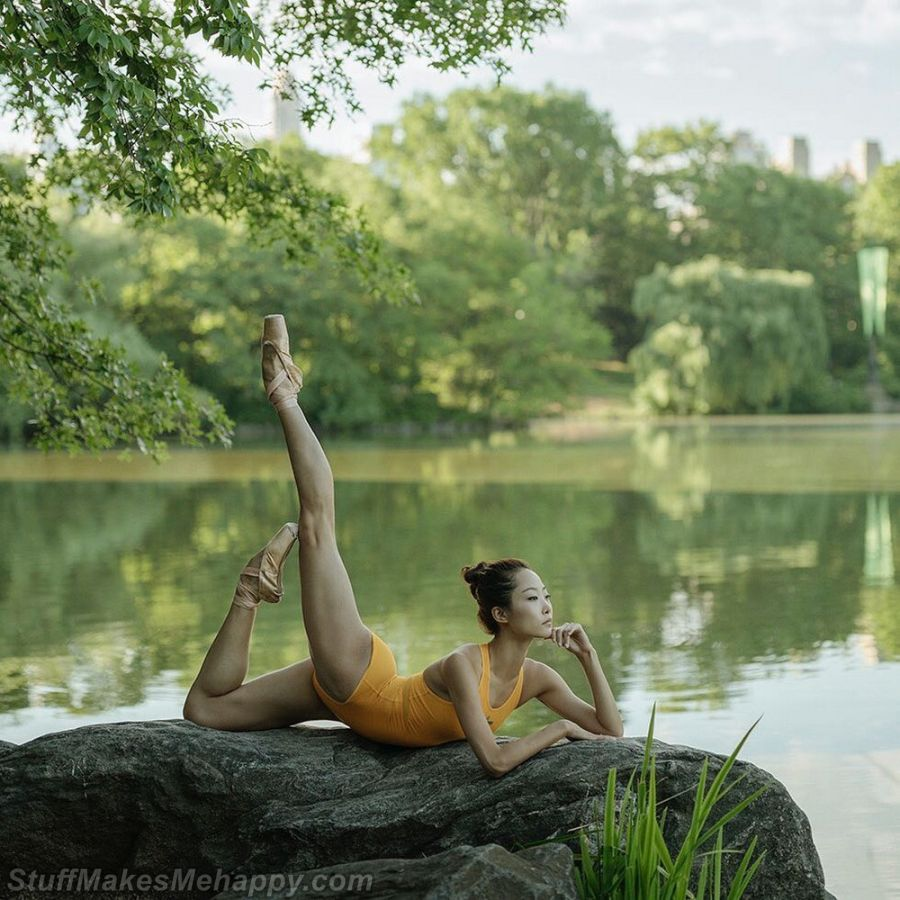 Ballet Dancer Pictures in A Phenomenal Photo Project 'Ballerina' by Dane Shitagi
