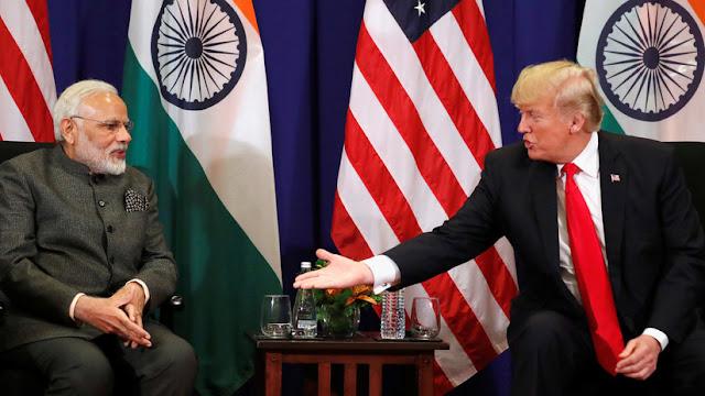 """Trump exige a India que retire su """"inaceptable"""" aumento de aranceles a los productos estadounidenses"""