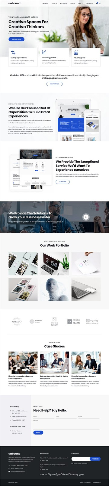 Best Responsive WordPress Business Theme