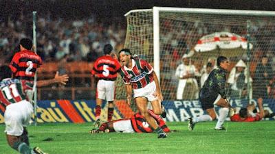 Renato Gaúcho comemora gol do Fluminense na final - Divulgação