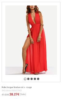 https://fr.shein.com/Red-Plunge-V-neck-Split-Self-tie-Maxi-Dress-p-291796-cat-1727.html?utm_source=unblogdefille.blogspot.fr&utm_medium=blogger&url_from=unblogdefille