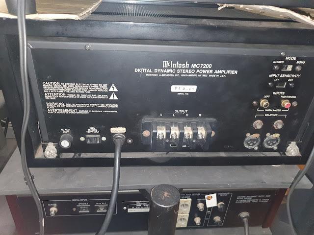 Mcintosh C-34V Pre and MC -7200 power (Used) 20200818_144810