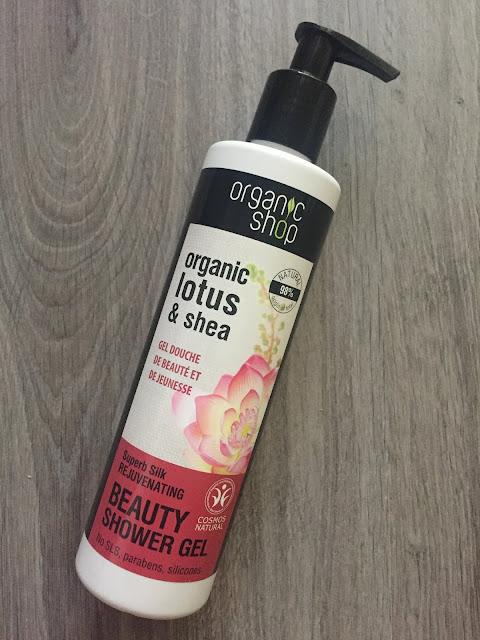 Gel de ducha Organic Shop Lotus & Shea