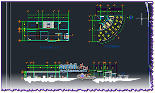 Download AutoCAD CAD DWG cad-dwg-faculty-architecture-UAEM-FINAL-para-plotear-