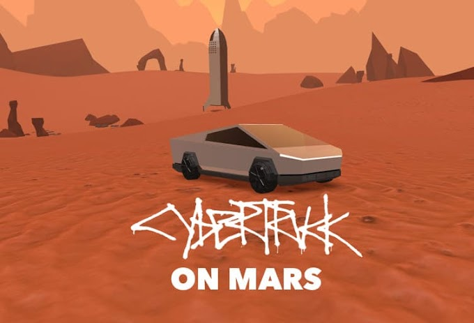 Want To Drive Tesla Cybertruck On Mars? Check Out This Simulator