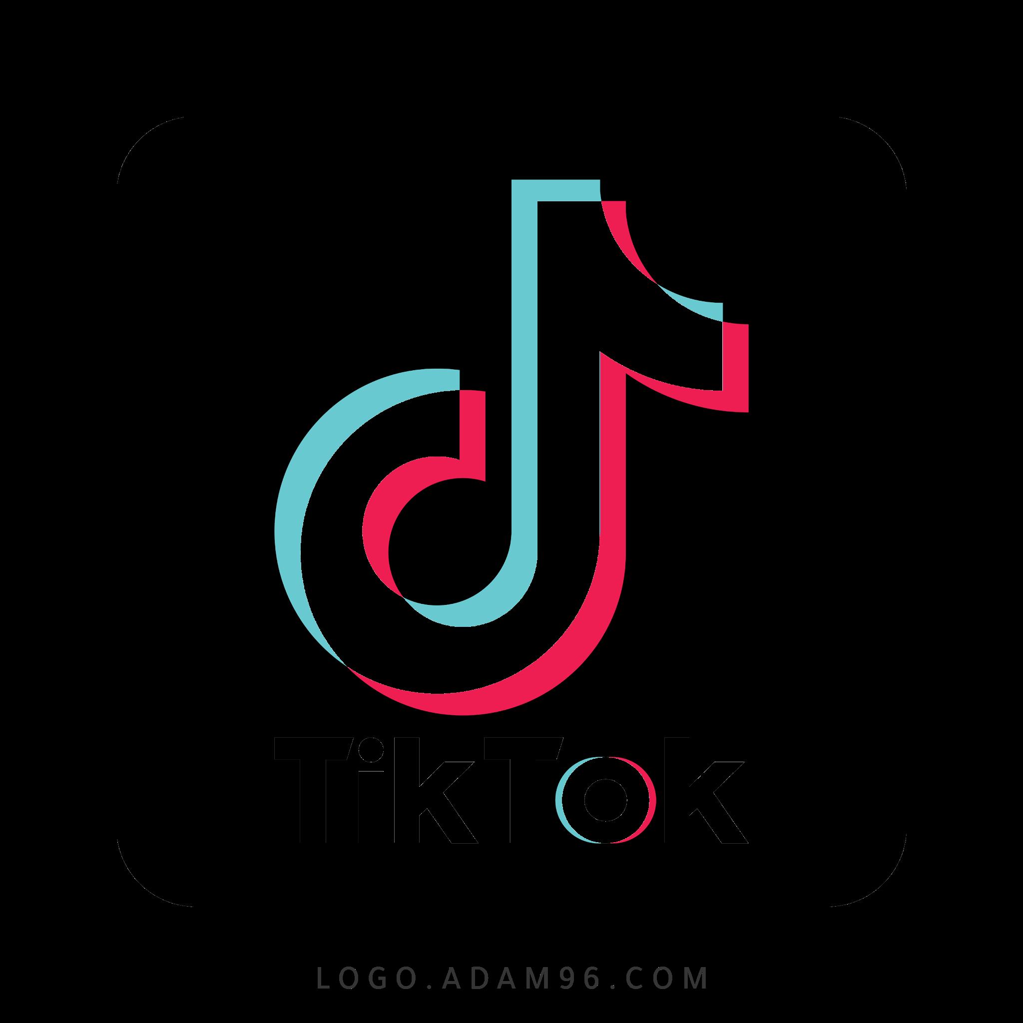 تحميل شعار تيك توك لوجو رسمي عالي الجودة بدون خلفية Logo TikTok PNG