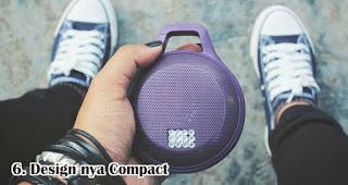 Pilih Speaker Yang Designya Compact merupakan tips memilih speaker bluetooth
