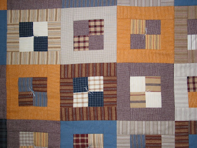 Country style quilt - Detail