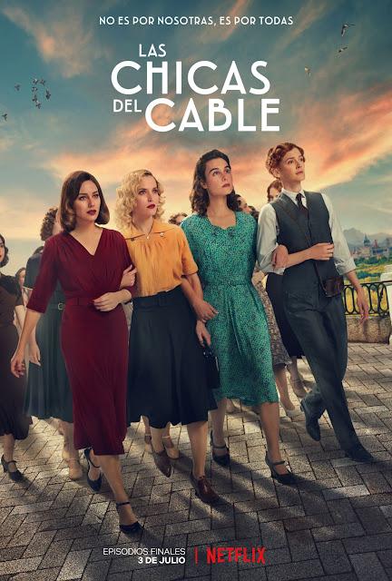 Cartel Las chicas del cable Final
