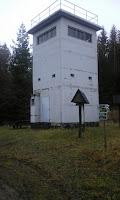 Funkturm der Grenztruppe bei Probstzella