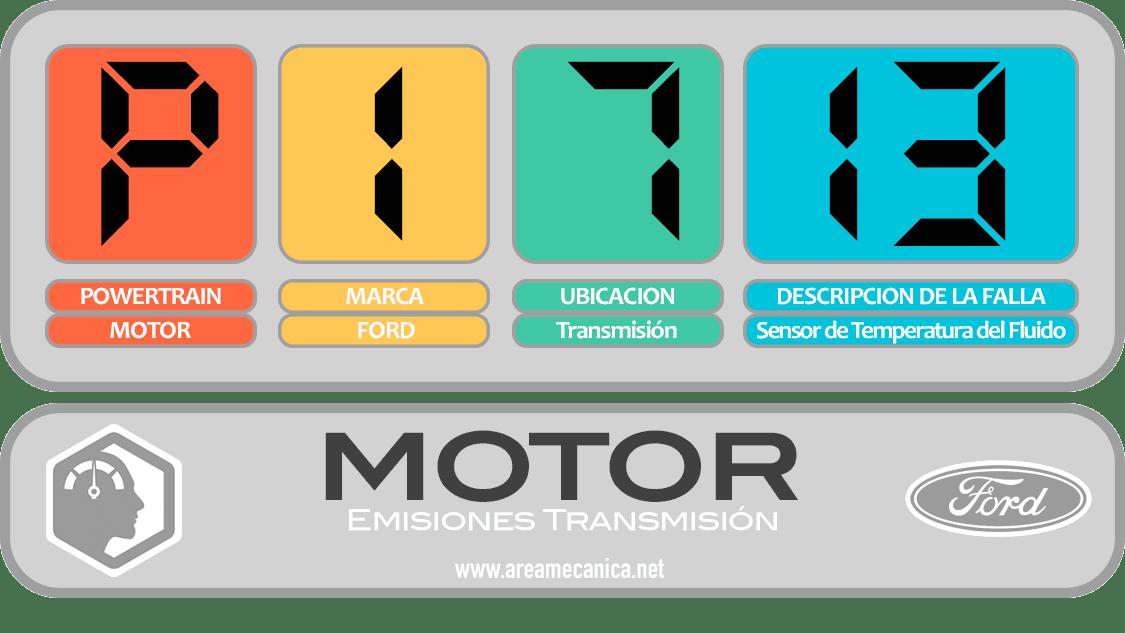 CODIGOS DE FALLA: Ford (P1700-P17FF) Motor | OBD2 | DTC