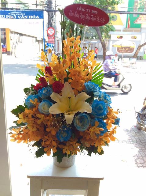 hoa tươi Long Điền BRVT