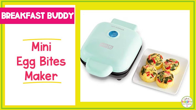 Looking for a teacher gift guide full of ideas? A mini egg bites maker might be the answer.
