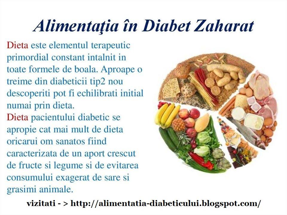Planificarea meselor pentru un regim sanatos in diabet