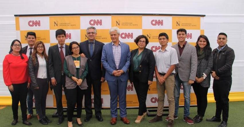 UPN: Diez universitarios de la Universidad Privada del Norte se capacitarán con expertos de cadena CNN