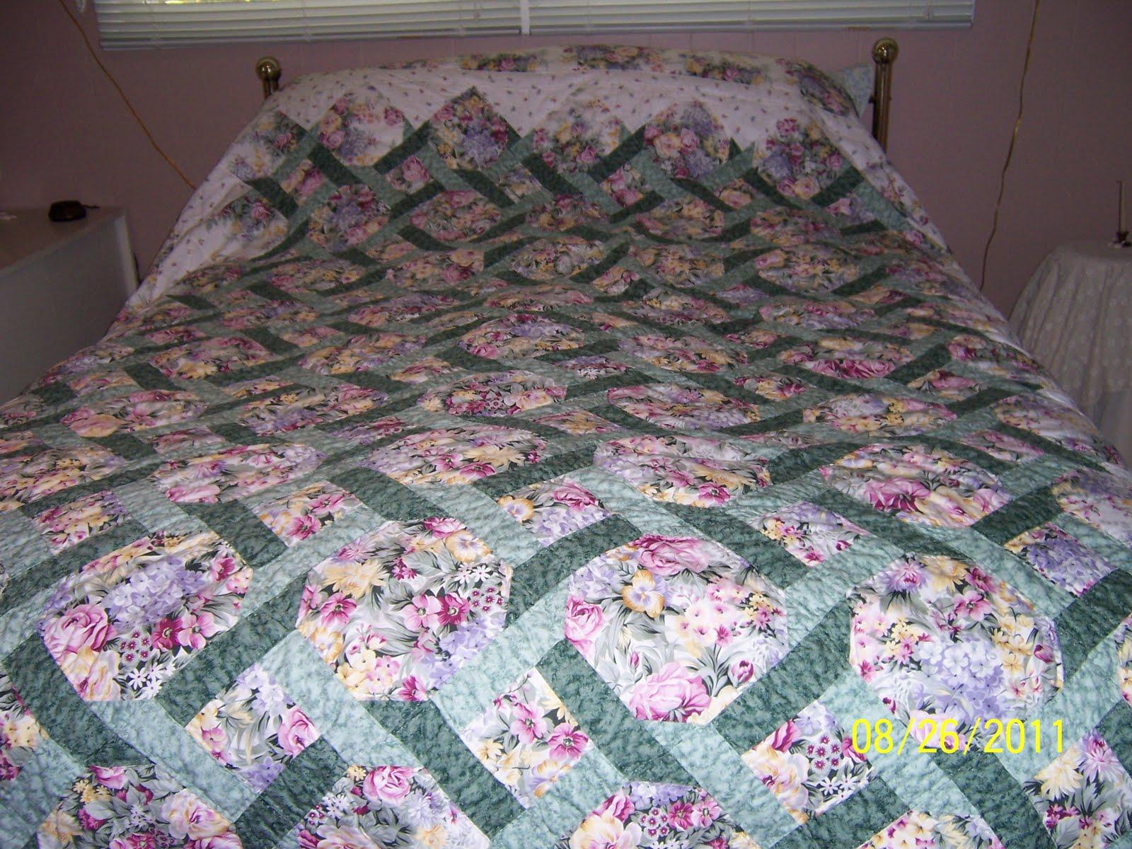 Quilting Grannie: Garden Trellis Quilt