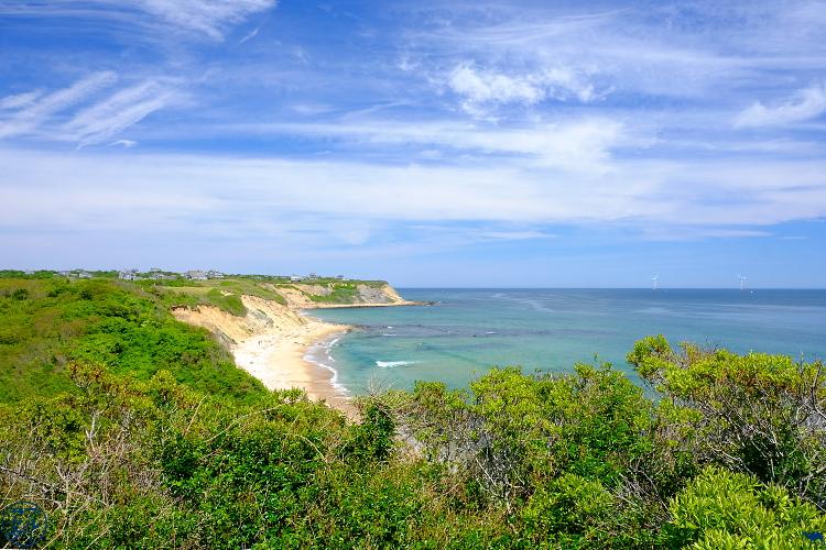 Le Chameau Bleu - Blog Voyage Block Island - Falaises de Block Island - Rhode Island