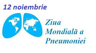 12 noiembrie: Ziua Mondială a Pneumoniei